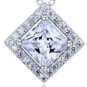 Colier Borealy Argint 925 Diamonds Princess1
