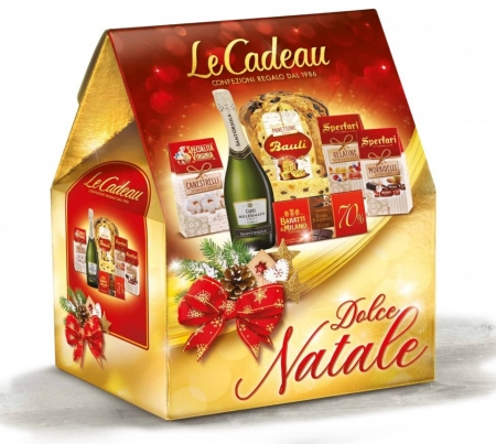 Cod de Craciun Dolce Natale, Panettone - 6 piese, made in Italy1