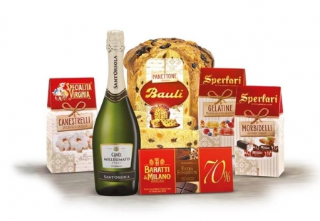 Cod de Craciun Dolce Natale, Panettone - 6 piese, made in Italy0