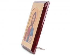 Domnul Iisus Hristos, Icoana Credan placata cu aur - made in Spain1