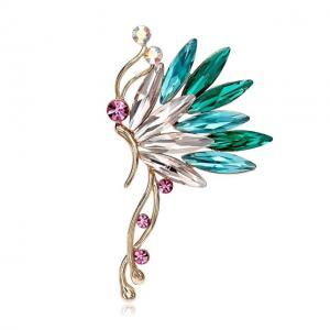 Cercei Ear Cuff Butterfly Colours by Borealy0