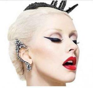 Cercel Ear Cuff Punk Couture by Borealy [3]