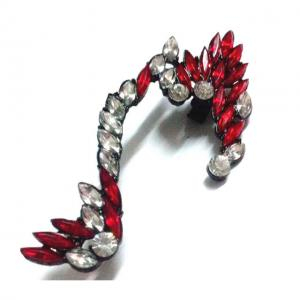Cercel Borealy Ear Cuff Punk Couture Red0