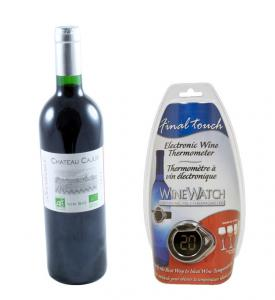Electronic Wine Thermometer Chateau2