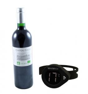 Electronic Wine Thermometer Chateau0