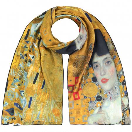 The Lady in Gold Esarfa Matase  - Gustav Klimt - Cadou Ziua Mamei4
