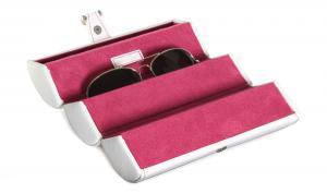 Etui Alb pentru 3 perechi ochelari by Friedrich - Made in Germany