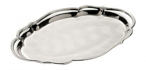 Fantasia Tray Sera tavă argintată by Chinelli, made in Italy