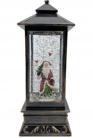 Felinar Mare Magic Christmas Santa Clause 28 cm0