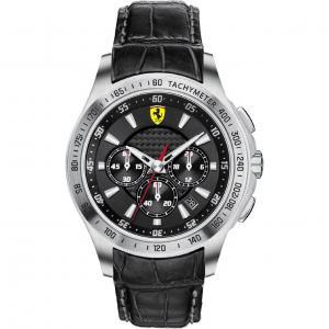 Ceas Luxury Scuderia Ferrari Black0