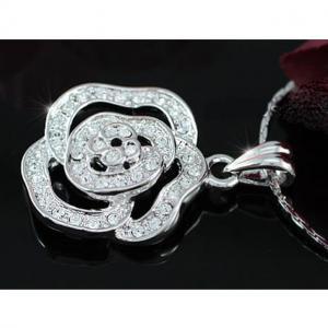 Medalion Borealy Rose White2