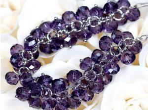 Colier Bead Purple1