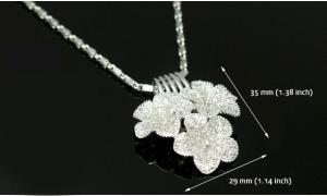 Flora Set Medalion, Cercei, Bratara si Inel Borealy8