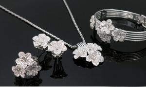 Flora Set Medalion, Cercei, Bratara si Inel Borealy5
