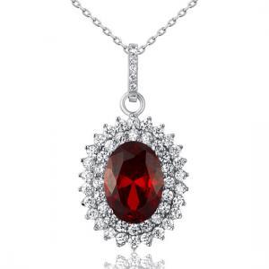 Colier Contesa Red Rubin Argint 9252