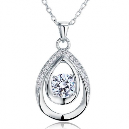 Colier Argint 925 Crystal Tears, by Borealy [0]