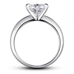 Inel Borealy Argint 925 Solitaire Lux Simulated Diamond Marimea 63