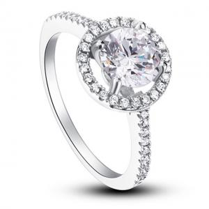 Inel Borealy Zirconiu Simulated Diamond One Marimea 71