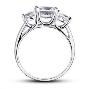 Inel Princess Simulated Diamond Argint 925 Marimea 7,52