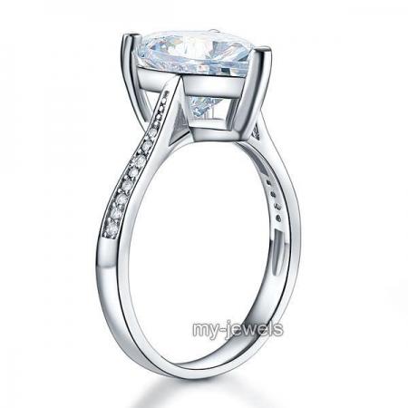 Inel Borealy Argint 925 Precious Crystal Heart, Masura 7 [1]