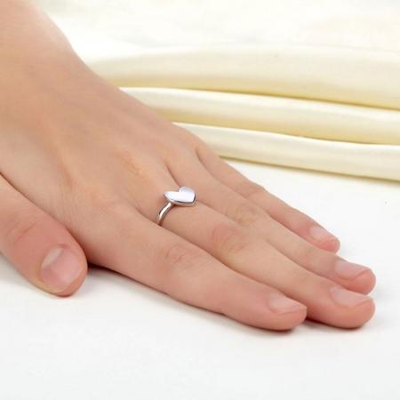 Inel Borealy Argint 925 Fashion Heart, Masura 51