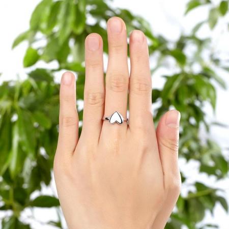Inel Borealy Argint 925 Fashion Heart, Masura 53