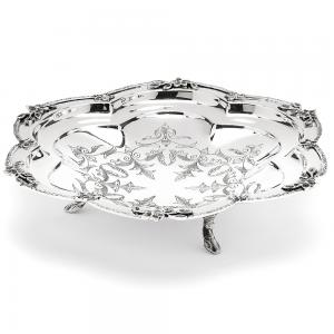 Fructiera Filigrane Silver Plated by Chinelli - made in Italy