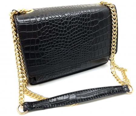 Geanta Croco Black Small