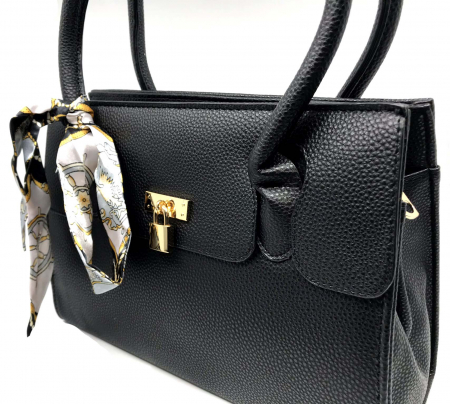Geanta Leder Noir Togo1
