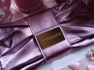 Geanta seara Versace Metalic Lilac Clutch2