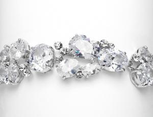 Glamour White Diamonds Bratara1