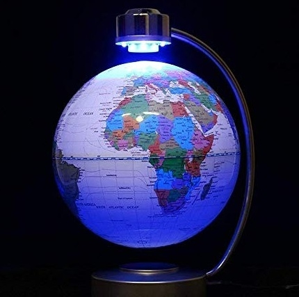 Glob Pământesc Levitaţie cu Led Desk Big 32 cm1