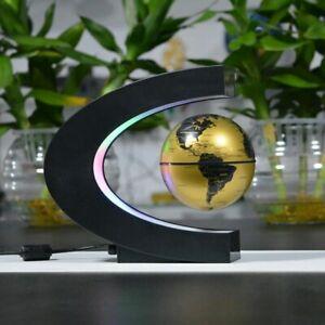 "Glob Pământesc Levitaţie Auriu + CADOU Harta razuibila mare Borealy ""Am fost acolo"" 82 cm x 59 cm Gold Edition Deluxe1"