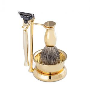 Gold Plated Luxury Shaving Set by Erbe Solingen, made in Germany7