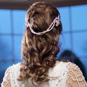 Great Gatsby Glamour Perle Headpiece Tiara1
