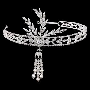Great Gatsby Luxury Tiara Headband1