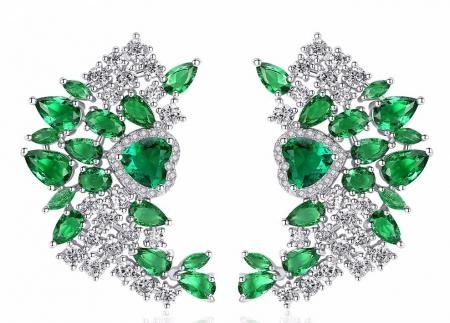 Cercei Borealy Green Drop Dew