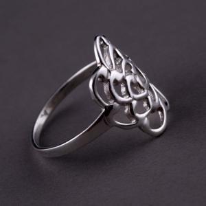 Inel Trandafir Argint 925 by Borealy Marimea 94