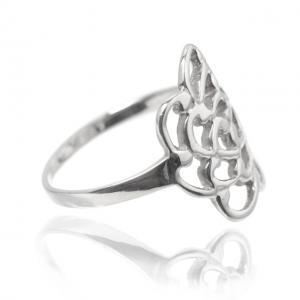 Inel Trandafir Argint 925 by Borealy Marimea 91
