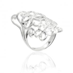 Inel Flowers Argint 925 by Borealy Marimea 81
