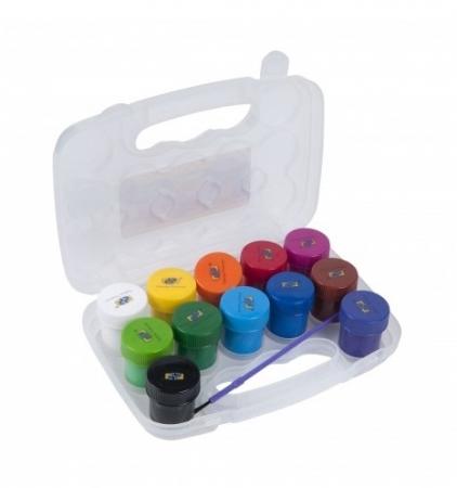 Guase Acuarele 12 culori + pensula PREMIUM [1]