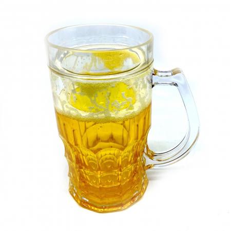 Halba de bere care ingheata cu perete dublu [0]