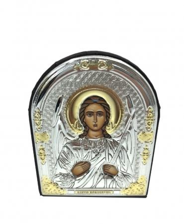 Icoana Iisus Hristos placata cu Argint 925