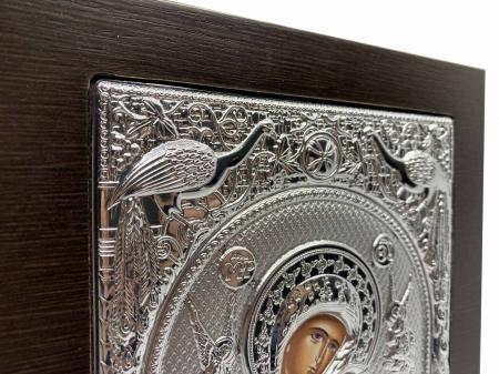 Cadou Paste Icoana Maica Domnului si Pruncul Argint4