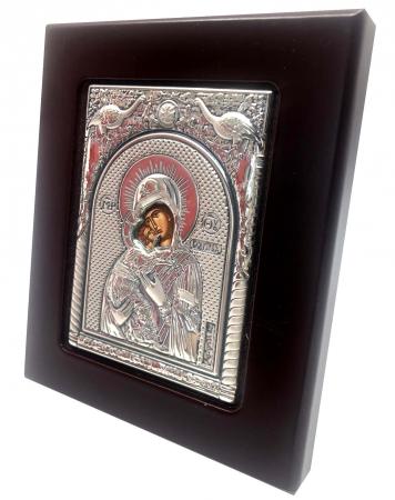 Icoana Maica Domnului si Pruncul din Argint1