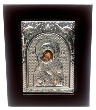 Icoana Maica Domnului si Pruncul din Argint [0]