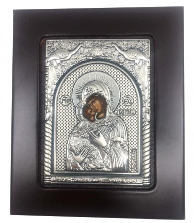 Icoana Maica Domnului si Pruncul din Argint2