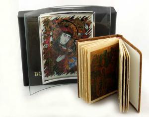 Cadou Icoana Maica Domnului si carte Rugăciuni pentru toata ziua2