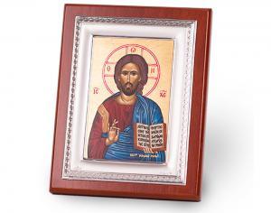 Icoana Iisus Hristos by Credan placata cu aur , made in Spain0