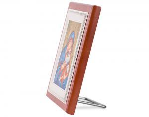 Icoana Maica Domnului si Pruncul Iisus placata cu aur - Credan, made in Spain1